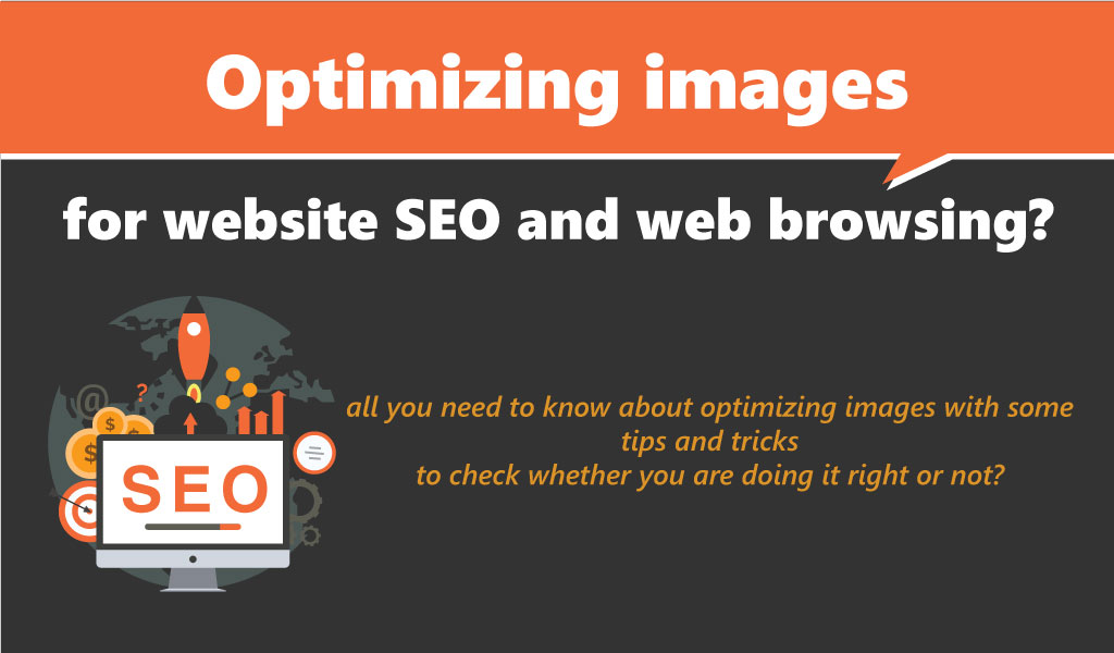 optimizing images for website seo and web browsing
